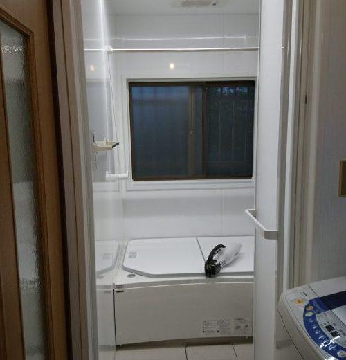狭山市 タイル浴室からユニットバスへリフォーム